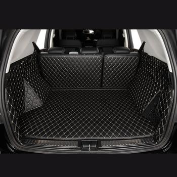 Car Trunk Mats for FORD fiesta focus Combic Escort fusion JU taurus Ecosport escape kega Edge Explorer 3d 5d boot mat