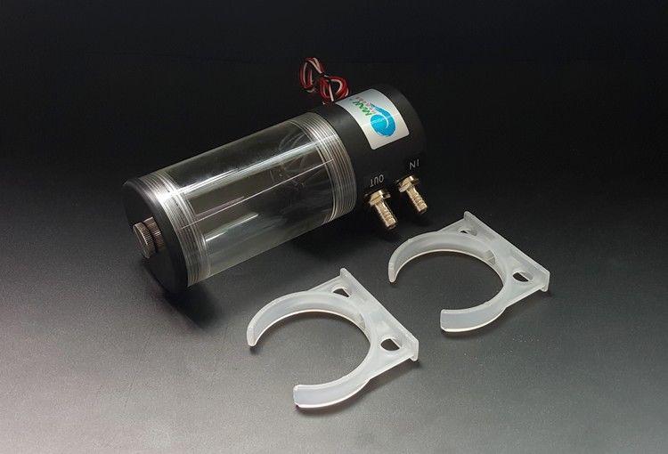 500L/H 10 w DC 12 v Água de Resfriamento DC Bomba Tanque 250 ml F CPU CO2 Da Água do Laser refrigeração