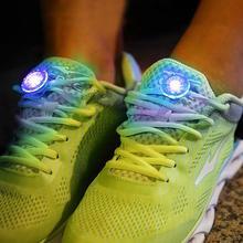 Мини-светильник осветительный зажим для обуви Led Предупреждение светильник для активного отдыха на открытом воздухе