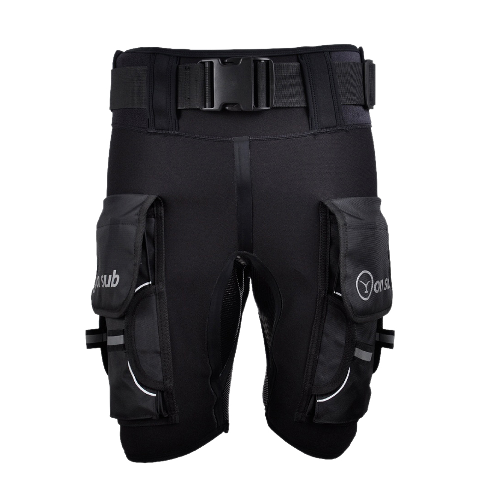Yonsub Diving Wetsuit Shorts Men Submersible D Ring Short Pants Mens Printed Technical Surf Snorkeling Equipment