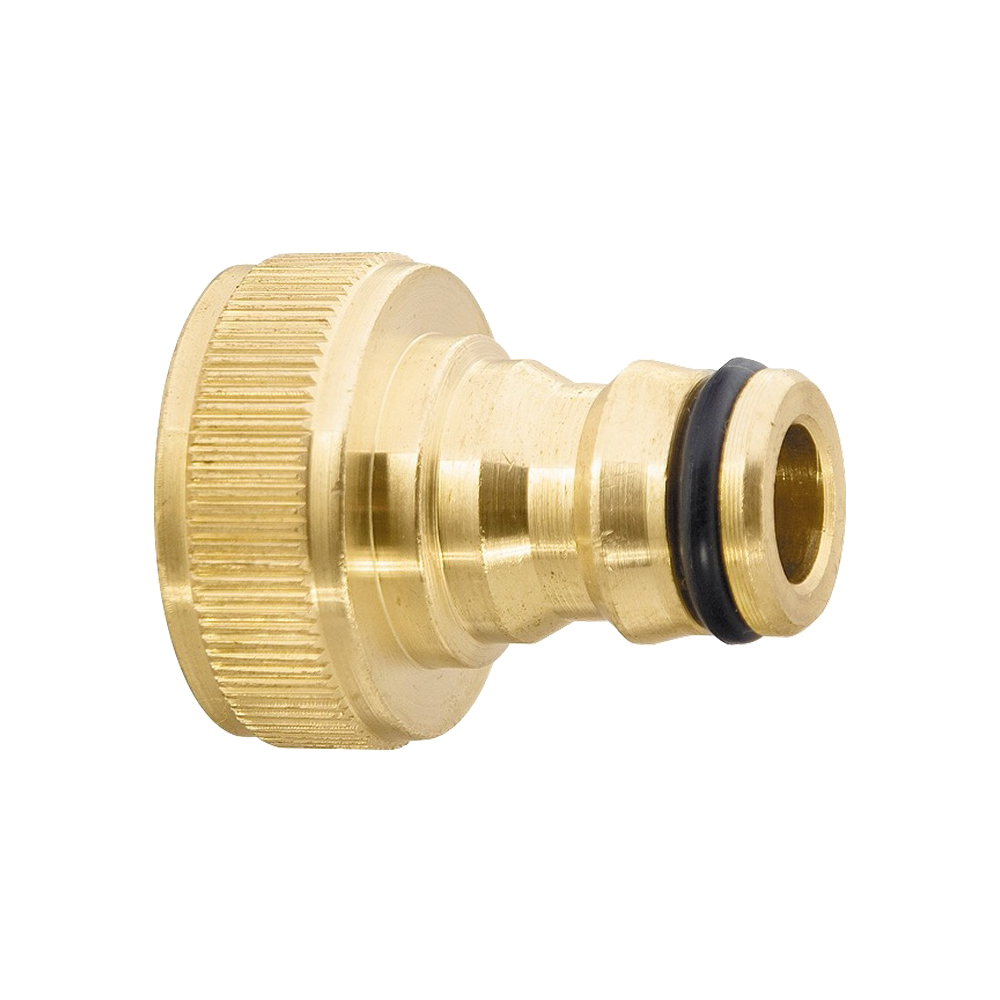 Garden Water Connectors PALISAD 65825 3/4 Metal Female Connectors insulated ring copper terminal connectors red silver 4 3mm 100pcs