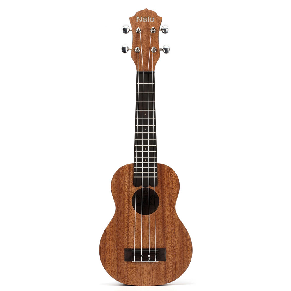 NALU N-520S African Mahogany Beginners Getting Started Ukulele 21 Inch Stylish Appearance Design Mini Guitar UkuleleNALU N-520S African Mahogany Beginners Getting Started Ukulele 21 Inch Stylish Appearance Design Mini Guitar Ukulele