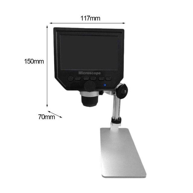 3.6MP G600 Digital 600X 4.3inch HD LCD Display Microscope 4