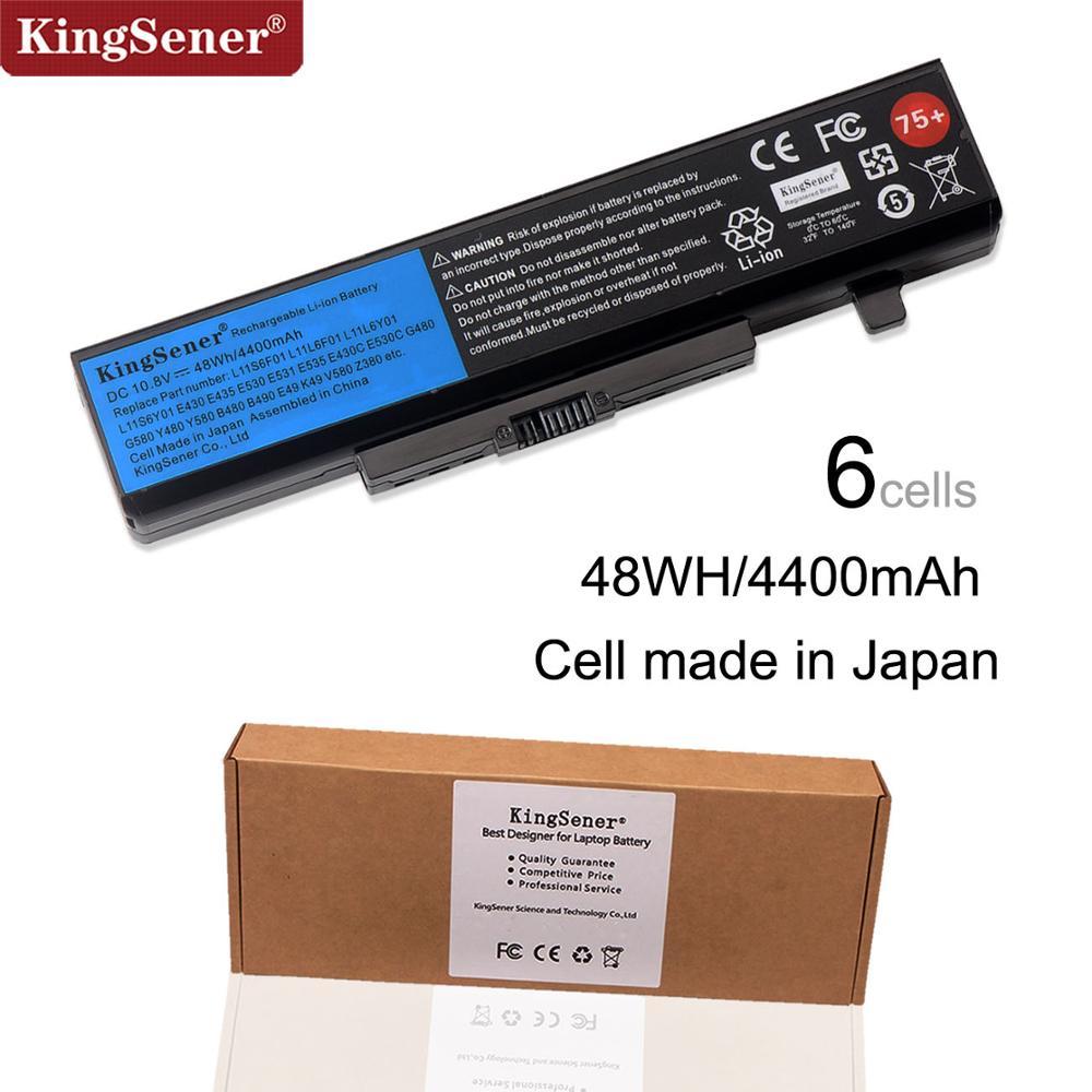 KingSener Laptop Battery For Lenovo G580 Z380 Z380A Y480 G480 V480 Y580 G580AM B480 B490 E49 K49 L11S6Y01 L11L6Y01 L11S6Y01 75+