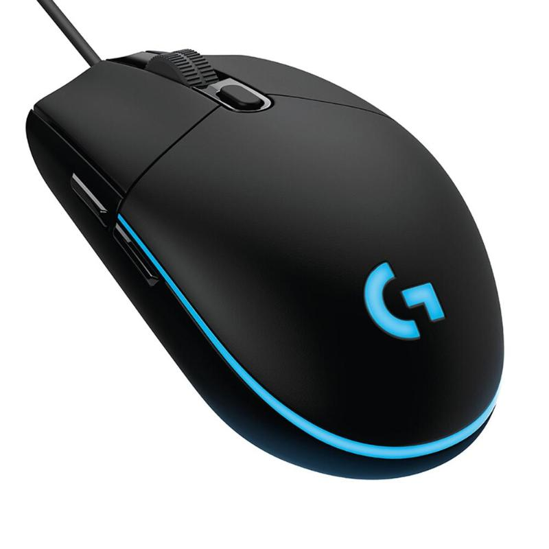 Logitech Wired Mouse Mice Programmable Mechanical-Buttons Macro Overwatch/lol-Games 8000DPI title=