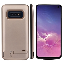 For Samsung Galaxy S10e Charger Case 5000mAh Slim Power Bank Rechargeable Case For Samsung S10E Battery Case Stand Bracket 3500mah rechargeable li ion external battery power case w stand for samsung galaxy s5 black