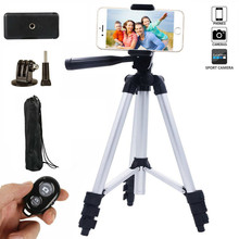 Mini Tripod Stand Bluetooth Self Timer Outdoors Photograph Portable Flexible