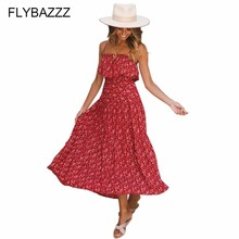 Boho Floral Print Long Baeach Dress Women Sexy Off Shoulder Beach Maxi Dress Summer Strapless Slim Sundress Plus Size Vestidos women floral print bohemian maxi dress gypsy wrap maxi dress vintage puff sleeve blossom boho maxi dress spell dress