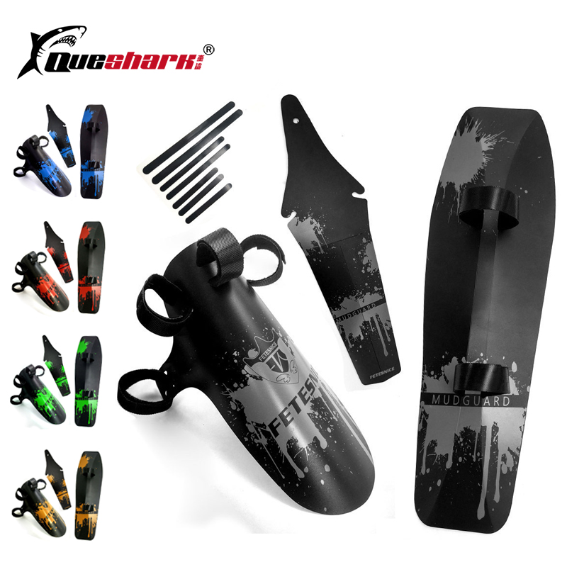 3pcs/set New Design Mtb Mudguard Mountain BMX Racing Touring Road MTB Bike Fender Front/Rear/Down Tube Fender Bicycle Mudguards