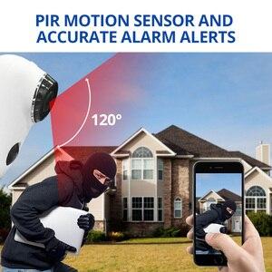 Image 3 - Wetrans Wifi Camera Oplaadbare Batterij 720 P HD Nachtzicht Weerbestendige IP CCTV Camera Outdoor Draadloze Cam Fish Eye Alarm