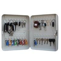 metal key box tool case Storage Bins key management box key cabinet with 24 key card Office Hotel facility Property storage item