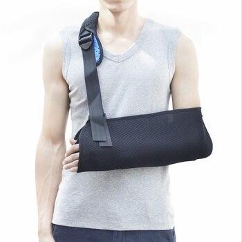 Soporte brazo cabestrillo de brazo correa de hombro ajustable Corrector de  postura ortopédicos fractura de apoyo 155a2c5dda66