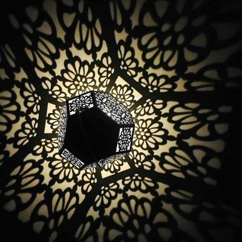 Новый уличный светодиодный садовый светильник на солнечной батарее, бриллиантовый Водонепроницаемый светодиодный подвесной светильник для внутреннего двора, ландшафтный светильник, домашний декор, лампа для газона