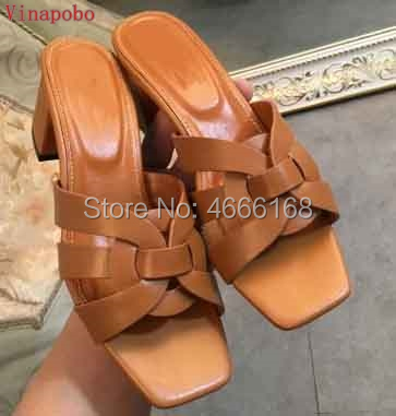 Hot 2019 Classic Summer Woman Flat Shoes Womens Slippers Sexy Tribute Thick Heel flip flops Woman