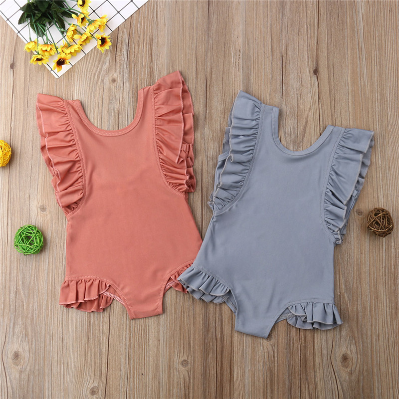 PUDCOCO Hot Cute Newborn Toddler Kids Baby Girl Swimsuit Bathing Suit Beachwear