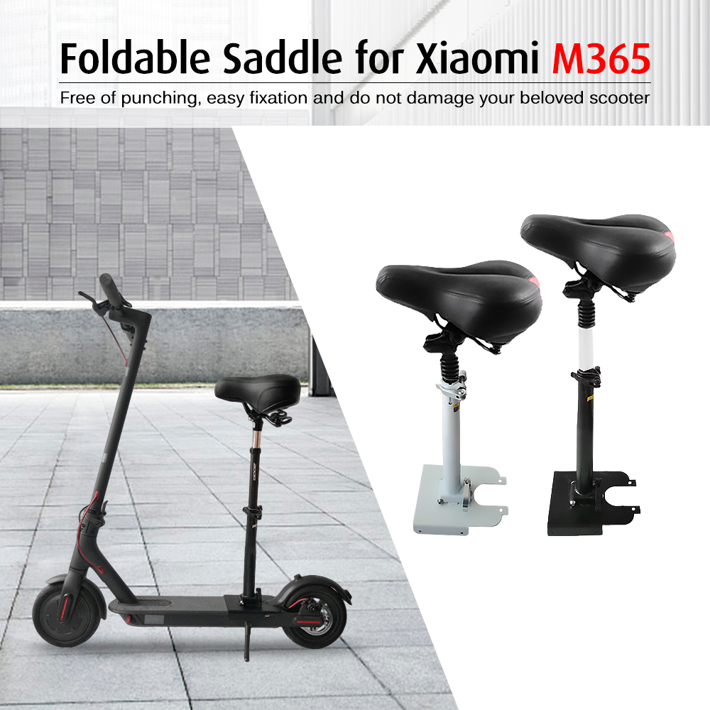 Height Adjustable Saddle Folding Scooter Seat Foldable Scooter Saddle for Xiaomi M365