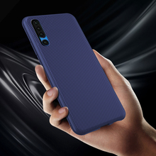 Luxury Soft TPU Case For Huawei P30 Pro Lite Silicone Texture Anti-slip Armor Cover Shockproof