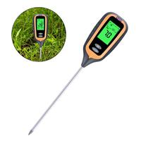 Digital Soil Analyzer Multifunctional PH Meter Moisture and Light Tester Thermometer A Great Helper for Gardeners