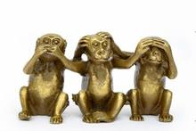 Collectibles Brass See Speak…
