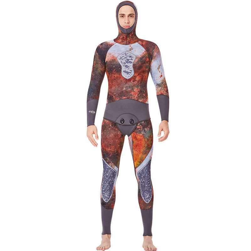 Dive&Sail Men 3Mm Wetsuit Scr Neoprene Jumpsuit And Jacket Freediving Spearfishing Diving Suit Snorkel Super Elastic Surfing WDive&Sail Men 3Mm Wetsuit Scr Neoprene Jumpsuit And Jacket Freediving Spearfishing Diving Suit Snorkel Super Elastic Surfing W