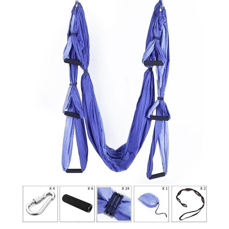 XC High Quality Yoga Hammock Anti gravity Aerial Yoga Hammock Set Yoga Belts For Building Body