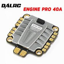 DALRC ENGINE PRO 40A 4 en 1 ESC 3 5S Blheli_32 4 en 1 ESC Brushless DSHOT1200 Ready w/ 5V BEC versión actualizada 40A para Dron de carreras