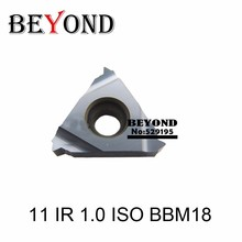 Высокоэффективные резьбовые вставки 11IR из нержавеющей стали с резьбой 11IR A55/A60/1,0/1,25/1,5/1,75/2.0ISO BBM18