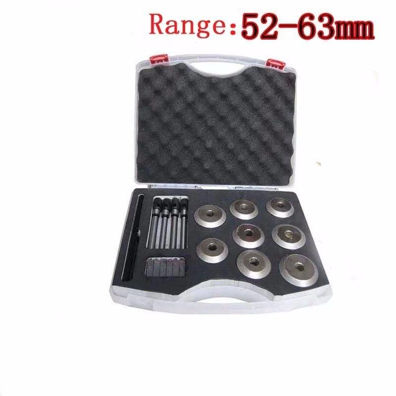 OHANEE moto voiture réparation soupape siège alésoir 52 à 63mm soupape siège coupe Kit valve outil de haute qualité