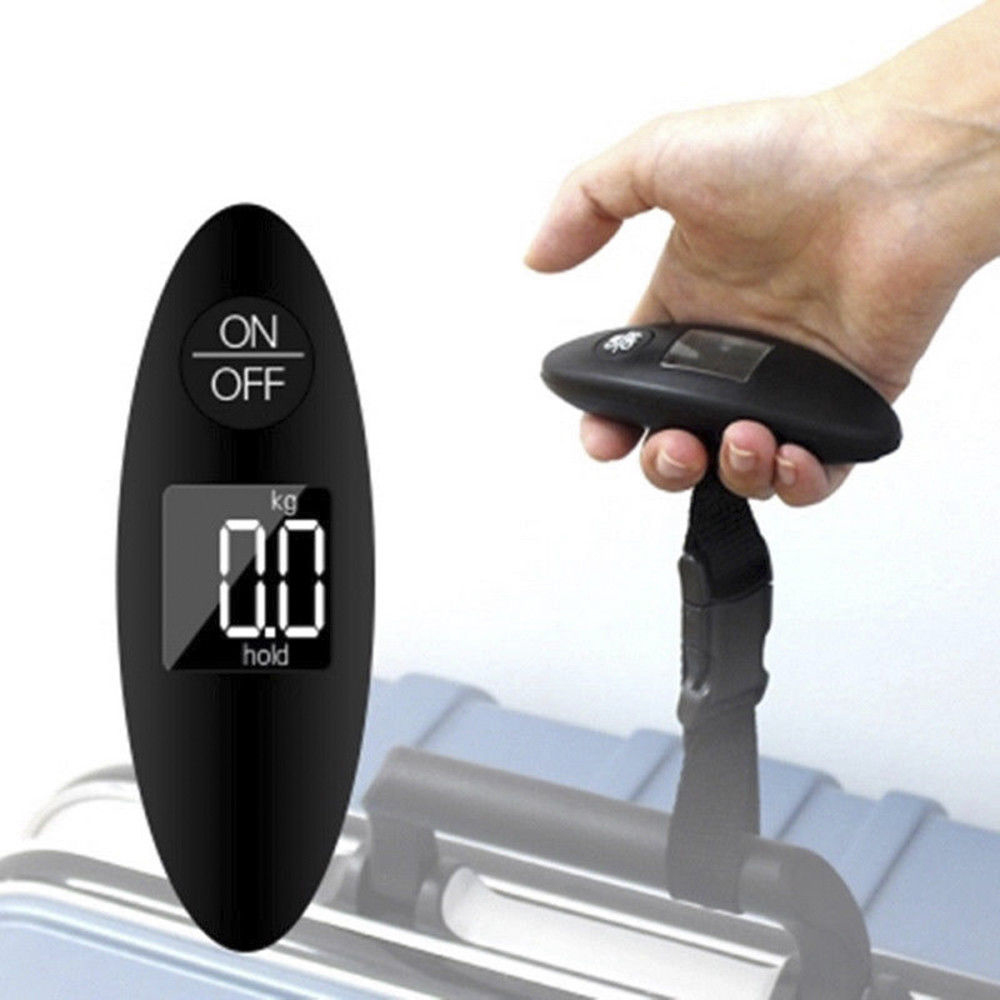 Mini Electronic Handheld Weight Balance Portable 100g/40kg Travel  Digital Scale Luggage Scale