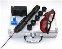 CNILasers VX6 Adjustable Focus 405nm BURNING Blue Violet Laser Pointer Purple Lazer Pen Cigarette Lighter Camping Signal Lamp