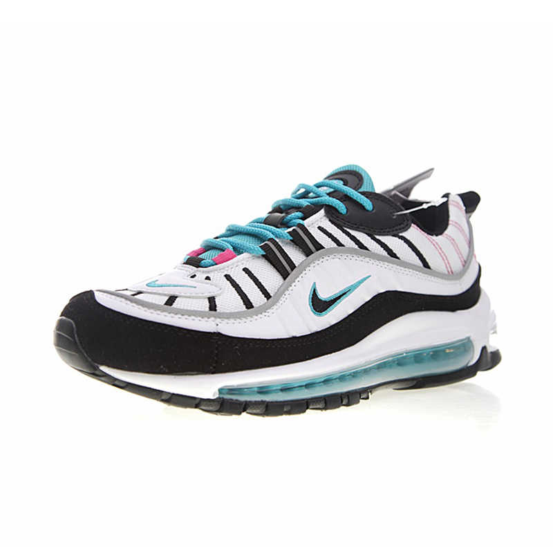brand new fffc1 fded9 Nike Air Max 98 South Beach Men's Running Shoes Comfortable Outdoor  Sneakers Breathable Sports Shoes #640744