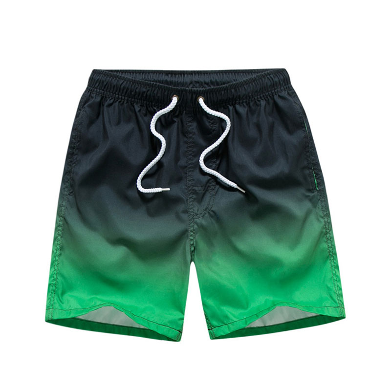 Men's Quick Dry Shorts Summer Mens Board Shorts Beach Wear Bermuda Swimsuit Man Surfing Men Swim Trunks Badeshorts