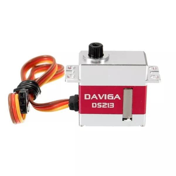 LeadingStar KST DAVIGA DS213MG 3 KG 16g Micro Servo numérique