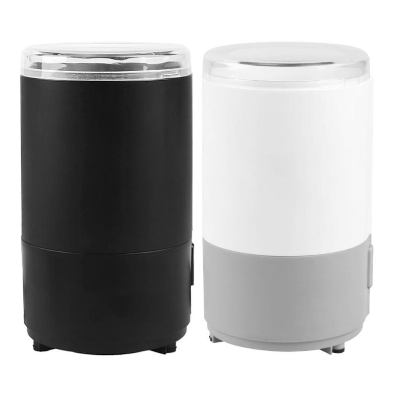 Electric Coffee Grinder Mini Kitchen Salt Pepper Grinder Powerful Spice Nuts Seeds Coffee Bean Grind Machine Kitchen Supplies