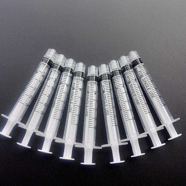 Jeringa sin agujas para inyección industrial, 50 unidades, 3ml