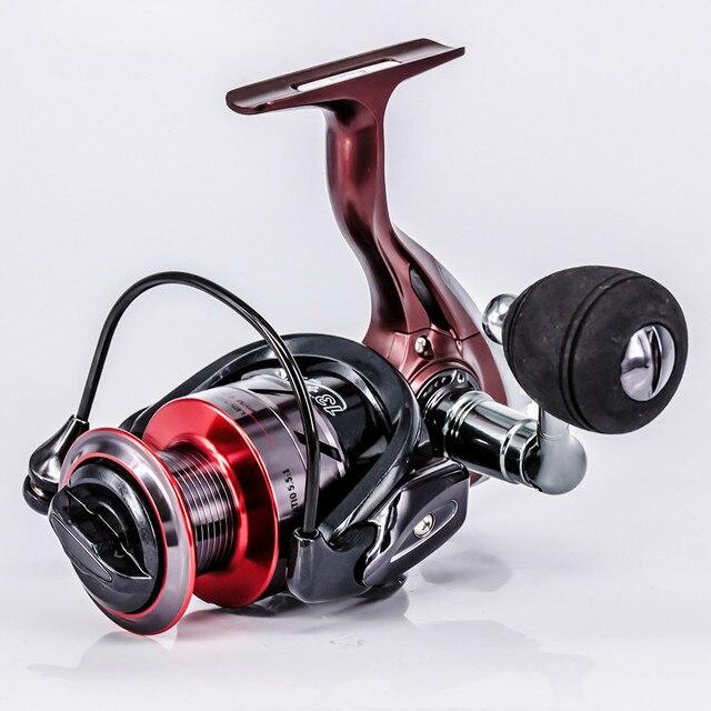 HOT di alta qualità 13 1bb bobina di metallo mulinello da Spinning 5.5:1 esca pieghevole bilanciere mulinello da Pesca mulinello da Pesca Carpa Molinete De Pesca
