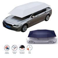 Полуавтоматический наружный автомобильный тент для автомобиля, зонт от солнца, покрытие на крышу, антиуф комплект, автомобильный зонтик, со