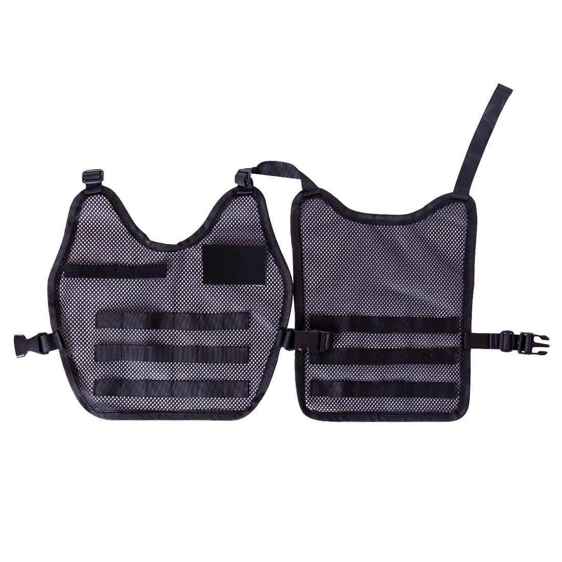 Тактический Молл военный костюм спецназовца очки полицейский шлем тактика зажимы на брызговик держатель снаряжение для Nerf N-strike Элитной серии CSGame