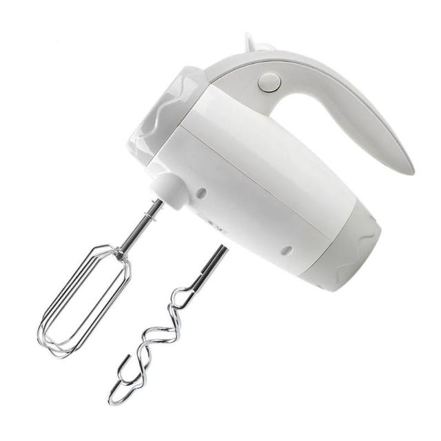 400W Handheld Electric Egg Beater Speed Adjust Double Food Blender Dough Cream Whisk Mixer Batter Beater Household Baking Tool