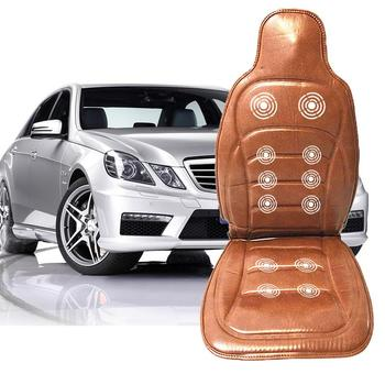 PU Car Massage Mat Household Cushion Massage Car Seat And Office Chair Lumbar Waist Cushion For BMW Golf Volvo Universal Full