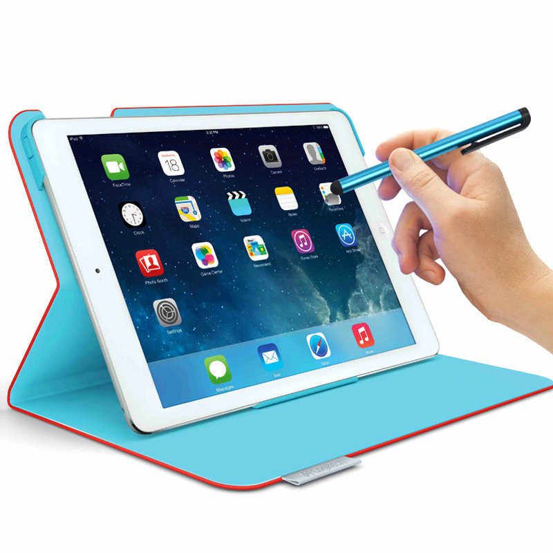 10 unids/lote capacitiva pantalla táctil Stylus Pen para iPad 4/3/2/4 Mini Touch Android Teléfono Inteligente 2018 tableta PC pluma para iPhone 6 s
