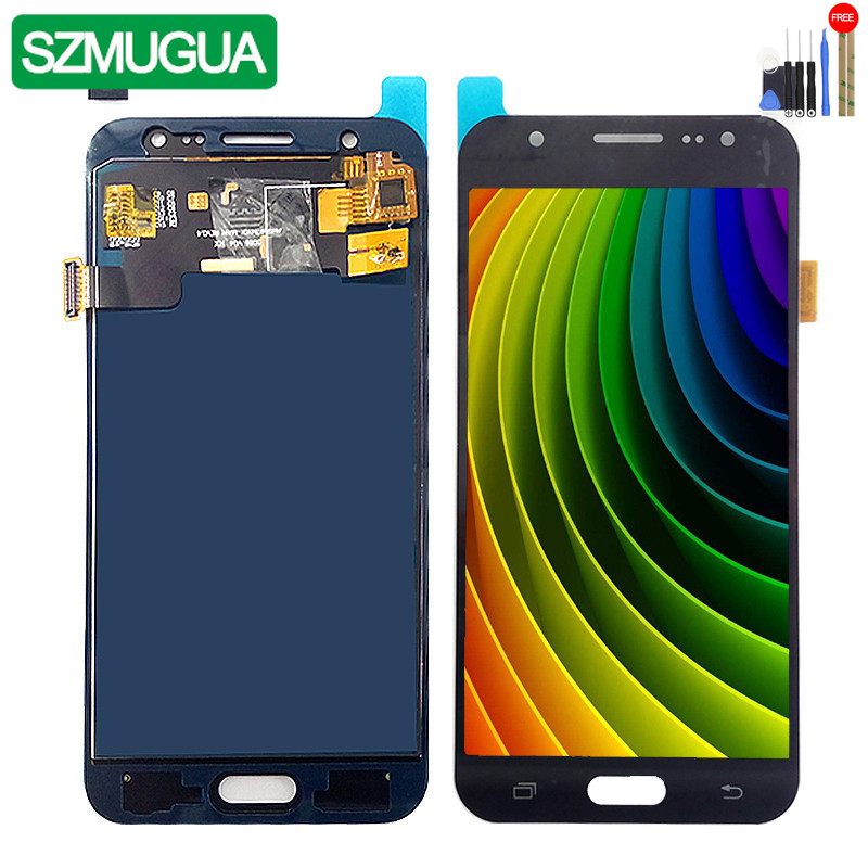 SM-J500FN/F/M/H/DS Für Samsung Galaxy J5 2015 J500 <font><b>LCD</b></font> Display + Touch Screen j500H J500FN <font><b>J500F</b></font> J500M Bildschirm Einstellen Helligkeit image