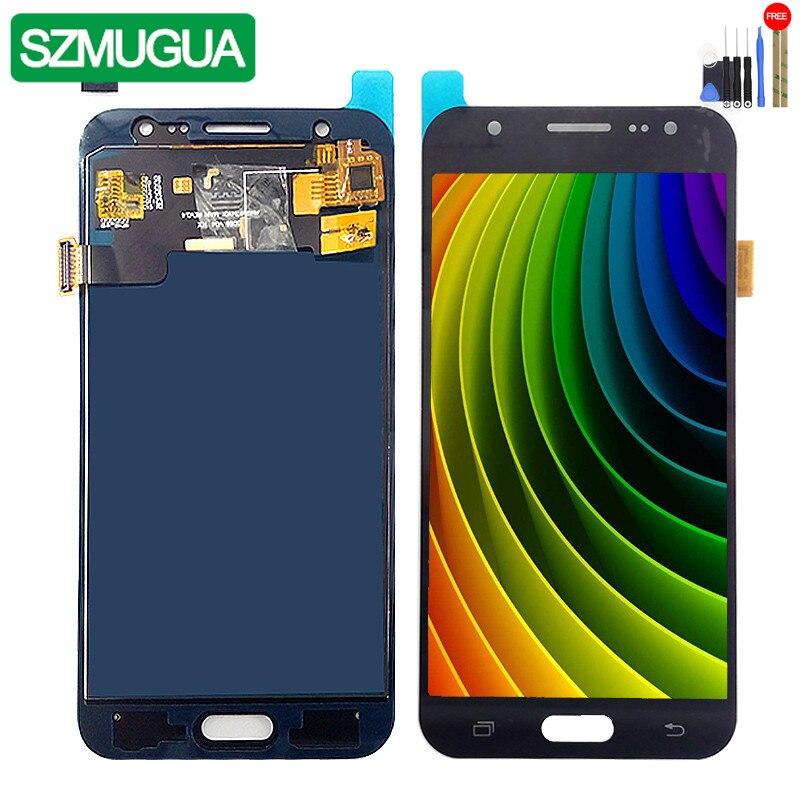 SM-J500FN/F/M/H/DS For Samsung Galaxy J5 2015 J500 LCD Display + Touch Screen J500H J500FN J500F J500M Screen Adjust Brightness
