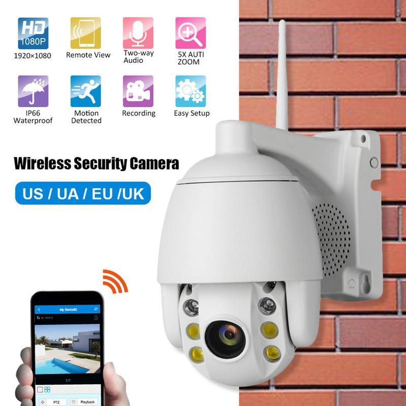 Camera Wireless Night-Vision High-Definition Surveillance-Camera WIFI Mini Dome Infrared