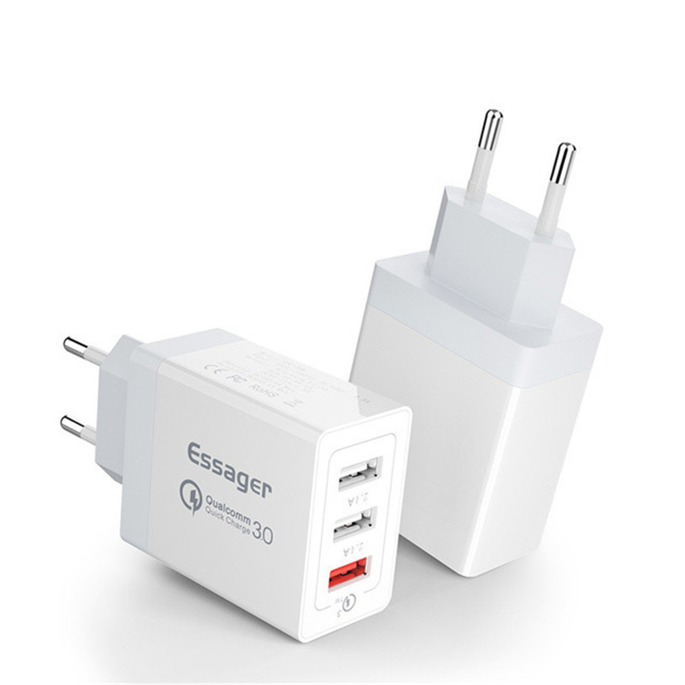 Usb-Charger Fast-Charging-Wall-Charger Mobile-Phone QC3.0 Universal Xiaomi Samsung 30W