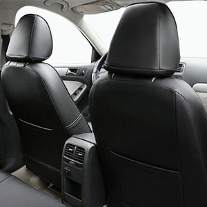 Image 5 - carnong car seat cover leather custom for volkswagen caddy 5 or 7 seater same structure  proper fit original auto seat covers