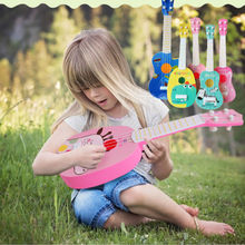 Musical Instrument Animal Guitar ukulele Children Kid Educational Play Toys School Game For Beginners