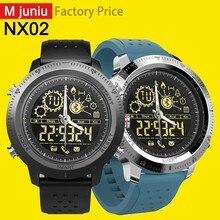 Nx02 Смарт-часы Профессиональные Водонепроницаемые 5atm 24h всепогодный мониторинг светящийся циферблат Смарт-часы для Ios Android M juniu часы