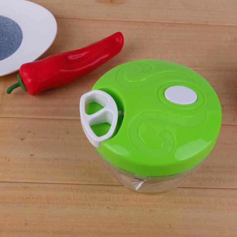 Multifunções Manual Picadora de Alimentos para Uso Doméstico Máquina de Carne Máquina Picadora de Carne Triturador Triturador Manual do Processador de Alimentos Liquidificador