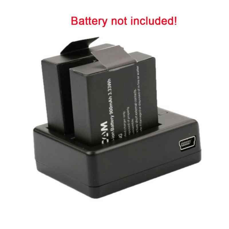 1 шт. SJCAM Батарея оригинальный Батарея Зарядное устройство двойной паз SJ4000 Bateria двойной Зарядное устройство USB кабель для SJ 4000 SJ5000 SJ6000